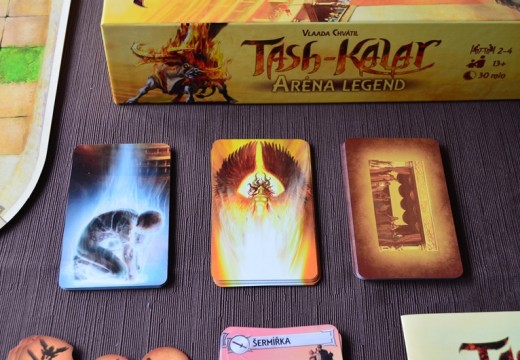 Recenze: Tash-Kalar – Aréna legend