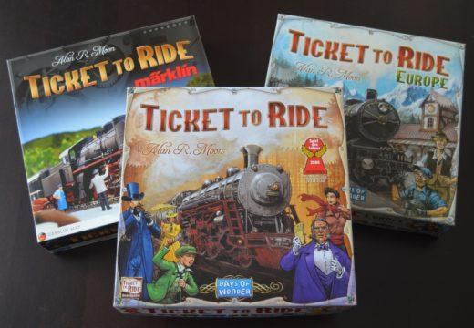 Recenze: Ticket to Ride