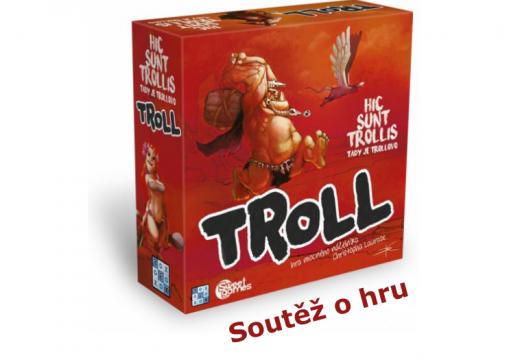Soutěž o hru Troll