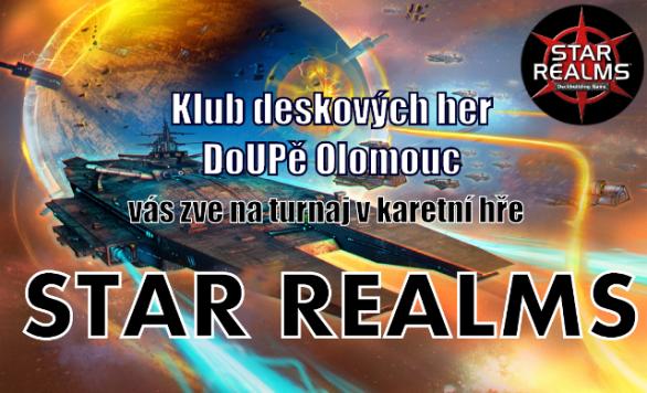 Pozvánka: Turnaj ve hře Star Realms v Olomouci