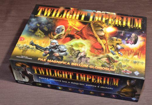 Epickou vesmírnou strategii Twilight Imperium si již zahrajete v češtině