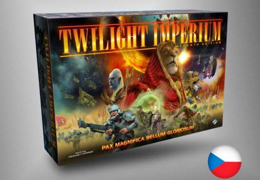 Podpořte české vydání epické strategie Twilight Imperium