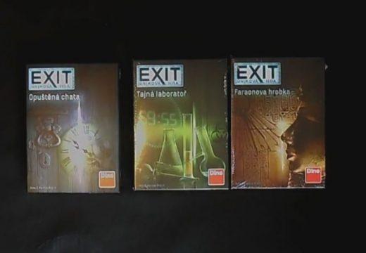 Pelly představuje Exit: Únikovou hru