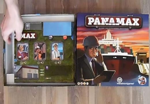 Pelly představuje hru Panamax