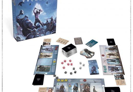 Valhalla je kostková karetka, kterou přináší REXhry