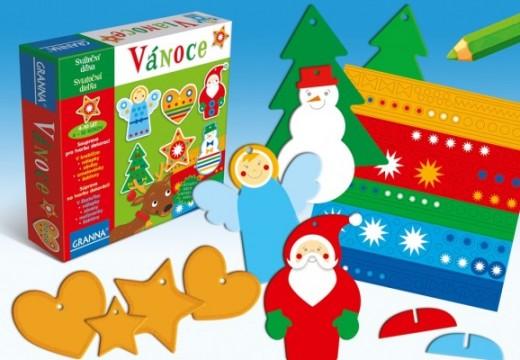Připravte si s dětmi vánoční výzdobu