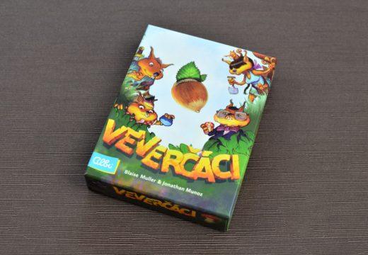 Vyzkoušejte Veverčáky, novou paměťovou hru