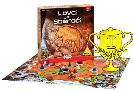 Vyhlášení vítěze v soutěži o hru Lovci a sběrači