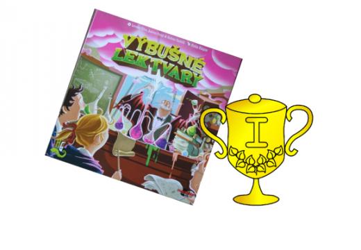 Vítěz soutěže o hru Výbušné lektvary