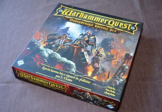 Karetní Warhammer Quest vyšel v češtině