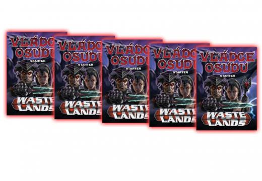 Soutěž o karetní hru Wastelands: Vládce osudu