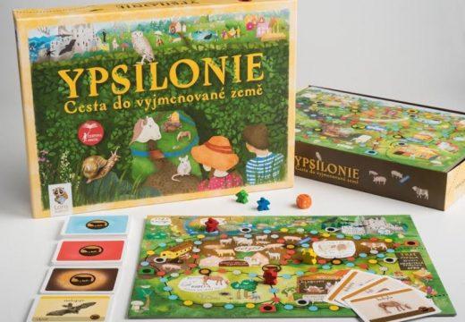 Soutěž o rodinnou hru Ypsilonie: Cesta do vyjmenované země