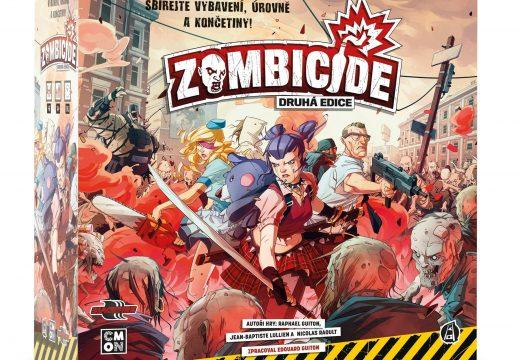 Druhá edice Zombicide právě dorazila, je plně v češtině