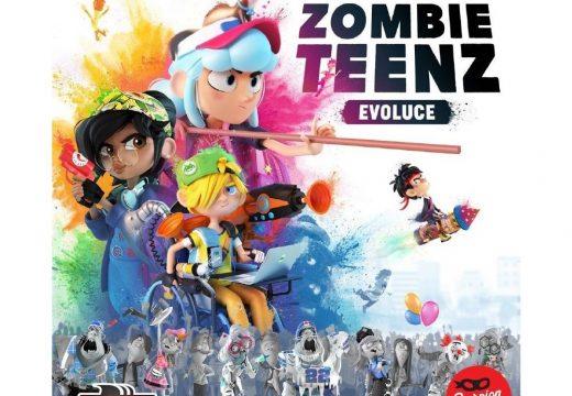 Braňte město ve hře Zombie Teenz