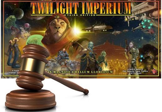 Dražba hry Twilight Imperium