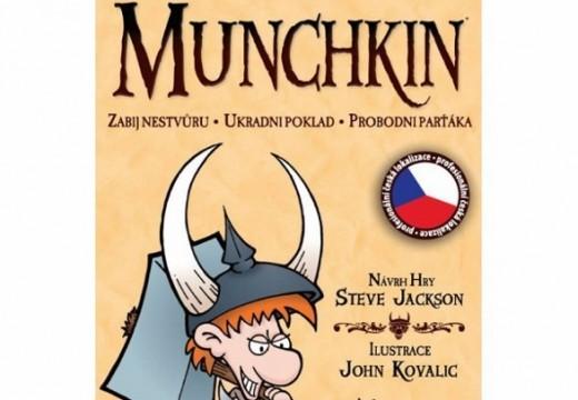 Soutěž o karetní hru Munchkin